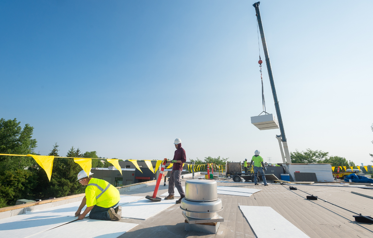 industrial and commercial roofing